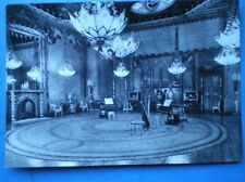 POSTCARD SUSSEX BRIGHTON - THE ROYAL PAVILION - THE MUSIC ROOM