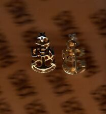 USN NAVY SCPO Senior Chief Petty Officer E-8 rank badge collar pinback p/b 1""