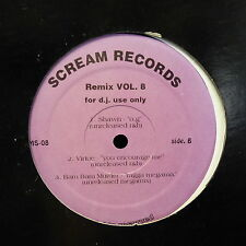 "MAXI 12"" SCREAM RECORDS Remix Vol 8 LOTUG / ALMIGHTY RSO .. SMS 08"