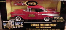 1957 Chevy Belair Red FIRE Colma California 1:18 Ertl American Muscle 33044