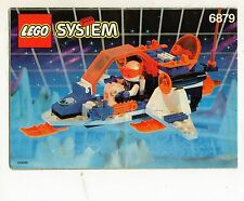 LEGO 6879-1 Blizzard Baron    NOTICE/ INSTRUCTIONS BOOKLET / BAUANLEITUNG