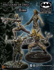 KNIGHT MODELS DC THE COURT OWLS METAL NEW