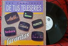 TELENOVELAS SONGS Rudy La Scala CARLOS MATA Franco De Vita WILLIE COLON 1990 LP