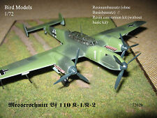 Messerschmitt Bf 110 K-1/K-2  (Bf 110/3m)  1/72 Bird Models Umbausatz/conversion