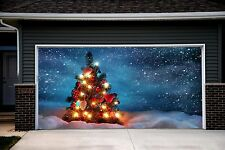 Christmas Garage Door Covers Banners Outside House Decorations Billboard GD21