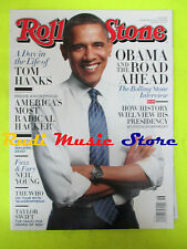 ROLLING STONE USA MAGAZINE 1169/2012 Barak Obama Tom Hanks Rolling Stones  No cd