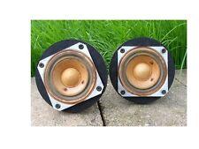 Good vintage pair original tweeters pulled from KLH model 26, twenty-six speaker