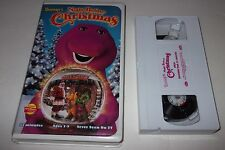 Barney Night Before Christmas VHS Video- & Friends - Actimates - Free shipping