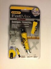 2 x Stanley FatMax Xtreme QuickSpike Quick Spike Chalk Line Tool