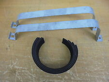 Triumph TR7 TR8 * FUEL TANK STRAPS + Rubber Packing Set