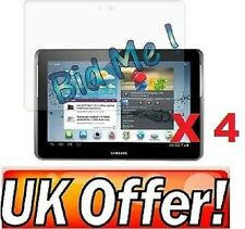 4 x Samsung Galaxy Tab 2 10.1 P5100 Lcd Screen Protectors Cover Film & Cloth