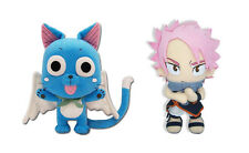 Brand New Set of 2 Fairy Tail Plush Doll - Happy and Natsu