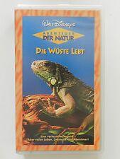 VHS Video Kinderfilm Walt Disney Die Wüste lebt Abenteuer der Natur Disneys +