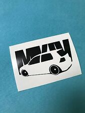 VW Golf MK4 Aufkleber Car Window Bumper Sticker Vinil 191