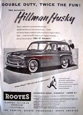 Hillman HUSKY 1955 Station-Wagon Estate Motor Car ADVERT: Original Auto Print AD