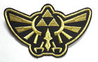 "Legend of Zelda Hyrule's Royal Crest Gold Logo 4"" Embroidered Patch (ZEPA-001)"