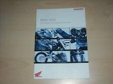 48886) Honda CBR 600 RR VTR 1000 Hornet 900 Prospekt 2003