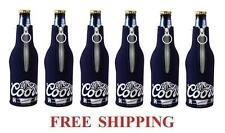 COORS ORIGINAL BANQUET 6 BEER BOTTLE SUIT COOLERS KOOZIE COOLIE HUGGIE NEW
