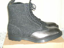 DR MARTENS AIRWAIR MADE IN ENGLAND SIZE 11 PEWTER/CHARCOAL HARRIS TWEEDBOOT-BNIB