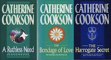 CATHERINE COOKSON __ 3 BOOK SET __ BRAND NEW __ FREEPOST UK __