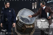 HOT TOYS 1/6 THE DARK KNIGHT RISES MMS275 JOHN BLAKE JIM GORDON SET FIGURE
