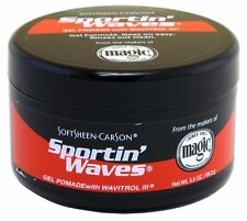 Soft Sheen Sportin Waves Gel Pomade - 3.5 Oz