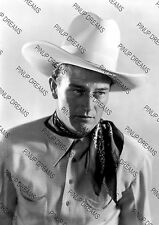 Vintage Photo Art Print of Legendary Movie Star John Wayne Re-print A4