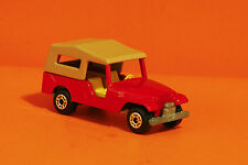 JEEP CJ6 - MATCHBOX / LESNEY SUPERFAST 1977 - DIECAST TOY CAR - MADE IN ENGLAND