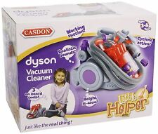 New Casdon Dyson Cyclone Vacuum Cleaner Toy Playset 3+
