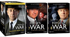 Foyles War DVD ALL Sets 1-8 Collection Series TV Show Episodes Lot Complete Vol