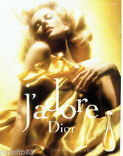 PUBLICITE ADVERTISING 026  2005  Dior parfum J'ADORE Charlize Theron