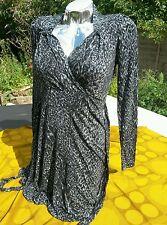 Oasis size S Lovely Summer/Autumn Sleeve Dress - Never Worn BNWT