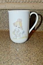 "Vtg 1984 Enesco Precious Moments Porcelain Latte Cup ""Every Day Is Very Special"""
