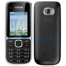 New Nokia C2-01 Unlocked Mobile Phone  3.2MP Camera 3G/Next G Black