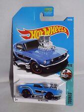 Hot Wheels 2017 Tooned Series #124 '68 Mustang Blue