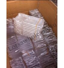 25 x WHOLESALE, JOBLOT, BULK CRYSTAL CLEAR TRANSPARENT CASE FOR iPHONE 5/5s