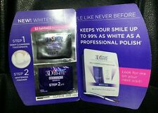CREST 3D WHITE BRILLIANCE toothpaste WHITENING SYSTEM Sample
