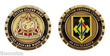 "ARMY FORT LEONARD WOOD SPEARHEAD OF LOGISTICS MSC 1.75"" CHALLENGE COIN"