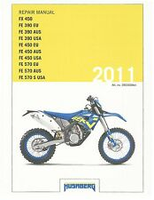 Husaberg service manual 2011 FE 390 EU, AUS, USA & FE 450 EU, AUS USA