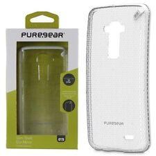 For LG G Flex D959 Phone Case Cover Slim Clear White Hybrid Rubber Hard Shell