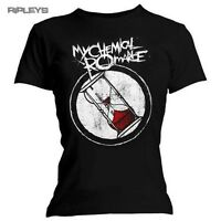 Official Skinny T Shirt My Chemical Romance   HOURGLASS Logo All Sizes