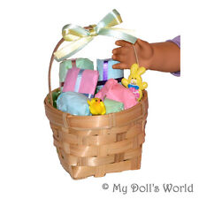 EASTER BASKET! 6 GIFTS TO OPEN! FITS MY AMERICAN GIRL DOLL~GIFT~NELLIE~GWEN~KAYA