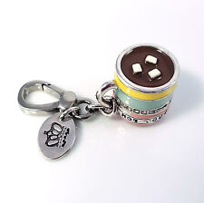 JUICY COUTURE Hot Cocoa Cup Chocolate Marshmellow Mug Charm 2009 LE -VERY RARE-