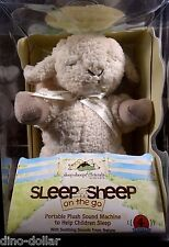 Cloud B On The Go Sleep Sheep Plush Sound Machine 4 Soothing Sounds #3363