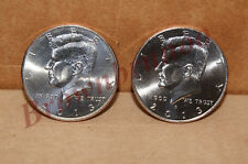 2013 P&D Kennedy Half Dollar Uncirculated 2 Coins Philadelphia & Denver Mint 50c