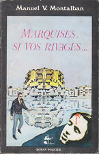 C1 ESPAGNE Montalban MARQUISES SI VOS RIVAGES EO 1980 Les MERS DU SUD Barcelone