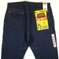 Wrangler Cowboy Cut New 13WMZ Original Fit Jeans Size 36 x 34 RIGID INDIGO #1053