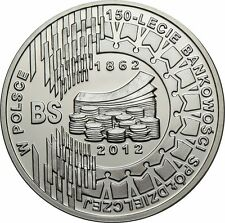 10 ZL 2012-polonia - 150 años banca en Polonia!!!
