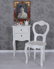 Chair In Country House Style Kitchen White Salon Dining room Antique