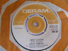 JUNIOR CAMPBELL Sweet Illusion Ex  Deram UK 1973 7""